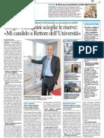 Giorgio Calcagnini scioglie le riserve