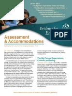 Assessment & Acomodation 2007