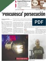 Policiaca  20 de enero 2014