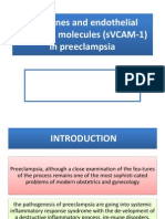 Cytokines and Endothelial Adhesion Molecules (sVCAM-1