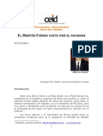 Alberto Buela El Martin Fierro Visto Por El Payador