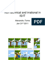 Non Technical and Irrational in Is