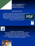 Webquest-Generos literarios