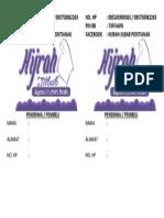 Label Kirim Hijrah Jilbab