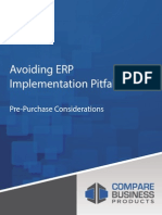Avoiding ERP Implementation Pitfalls