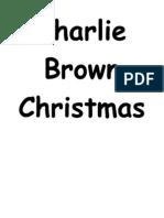 Charlie Brown Script