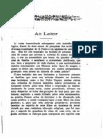 Genealogia Paulistana. Vol. I