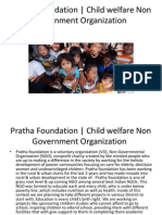 Pratha Foundation | Child welfare Non Government Organization