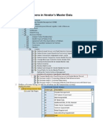 Adding Own Screens in Vendor - Customer Vendor master data