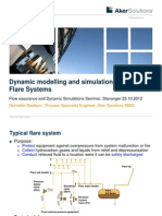 4 Simulation of Flare Systems