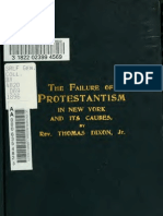 (1896) Failure of Protestantism in New York and Its Causes