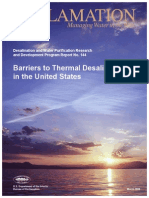 Report144 Barriers to Thermal Desalination- Usa