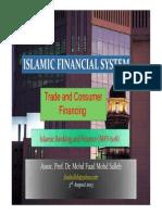 Trade and Consumer Financing