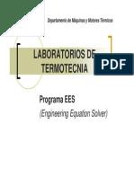 Lab Termotecnia - Presentación programa EES