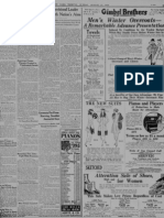 New York Tribune Reconstitution of Poland 25august 1918