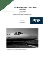 Flight Dynamics Manual for Matlab