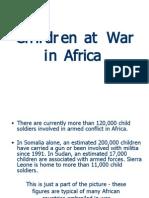 Children at War in Africa
