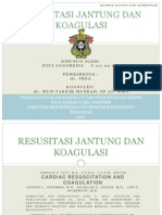 Slide Jurnal-reading Anestesi (resusitasi jantung dan koagulasi)