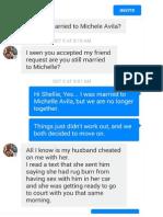 Shelly Lynn Infedelaty Conversation