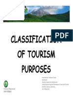 13b - Montserrat - Classification of Tourism by Purpose