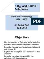 Folate Vitamin B12