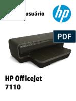 Manual Impressora HP7110