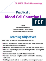 Practical - Blood Cell Counting I