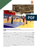 Agónico triunfo del Almería Basket en Baza  - Meridiano Baloncesto Baza 65-67 Almería Basket