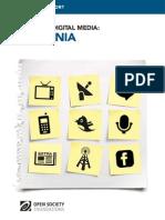 Armenia - Mapping Digital Media