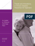 Trends and Innovations in Chronic Disease Prevention Treatment