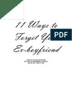 11ways to Forget Your Ex-boyfriend