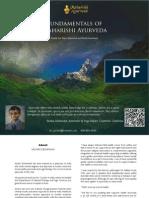 Fundamentalsof Maharishi Ayurveda Dr Sachin Deshmukh