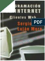 Sergio Lujan-programacion en Internet Clientes Web