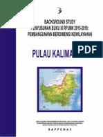 Background Study Buku III RPJMN 2015-2019 Pembangunan Berdimensi Kewilayahan Pulau Kalimantan