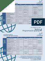 Programacion Coftah 2014 1er Semestre