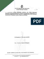 Alegación Ordenanza Derechos Usuarios Transporte Público