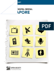 Singapore - Mapping Digital Media