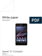 SONY Xperia z1 Compact Whitepaper