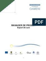Curs Management Proiecte
