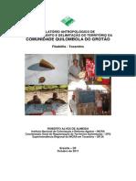 Relatório Antropológico Grotão (laudo)