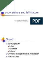 7.19 KULIAH Short Stature&Tall Stature