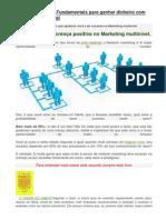Série de 5 hábitos Fundamentais para ganhar dinheiro com Marketing Multinivel