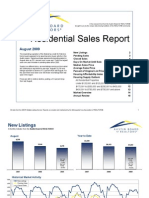 Austin Real Estate Market Statistics Aug 2009