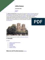 Iglesias Presbiterianas