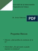 Eficacia y Efectividad de Interconsulta Psiquiatrica