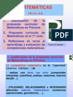 Competencias Curriculares Matemticas - Primaria