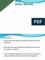 Plasma Proteins in Disease Diagnosis (4)