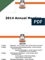 Bike Cleveland - 2014 Annual Meeting