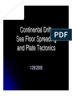 Continental Drift, Sea Floor Spreading and Plate Tectonics PDF