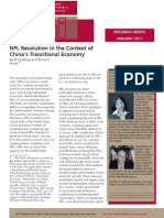 NPL Resolution in China